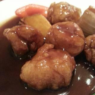 鎮江黒酢の酢豚セット
