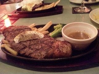 ハラミのステーキ