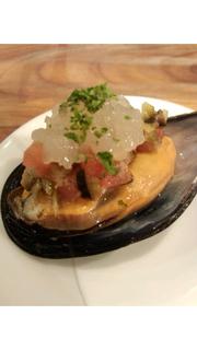 ムール貝の前菜