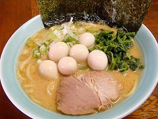 家系ラーメン(醤油味)