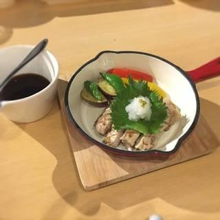 伊都の豚ロースのステーキ(和風ソース)