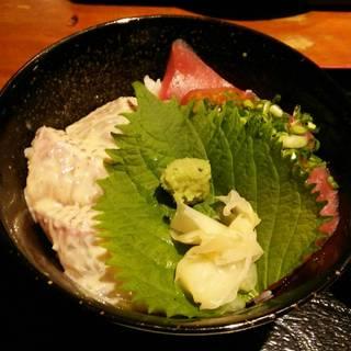 糀屋の海鮮二色丼