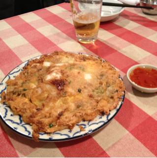 タイ風海鮮チヂミ