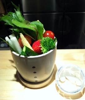 桶入り季節野菜スティック