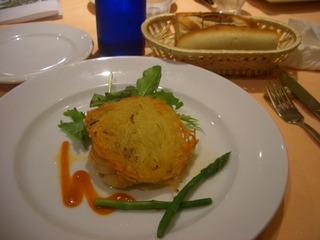 若鶏のグリル・ジャガイモのガレット