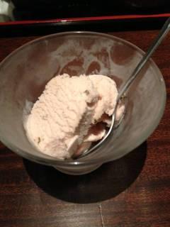 桜味のアイス