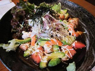 海老とアボガドのサラダ