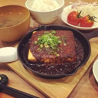 くずして食べる 一丁まるごと麻婆豆腐
