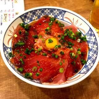 鮪ユッケ丼
