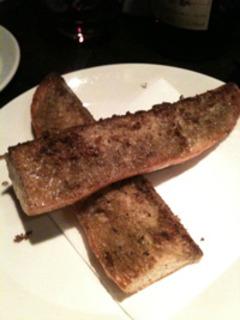 カニミソバタートースト
