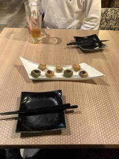 京生麩の彩り田楽