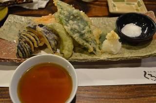 加賀野菜天盛り