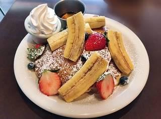 パンケーキ 季節のフルーツ