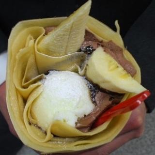ジェラートインバナナチョコ