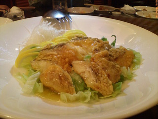 白身魚のレモン煮