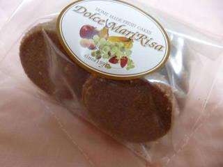チョコバニラクッキー