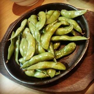 焼き枝豆 にんにく醤油味