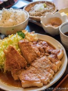 焼肉定食(にんにくダレ)