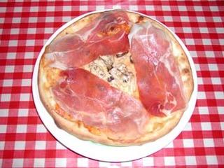 ピザ プロシュート