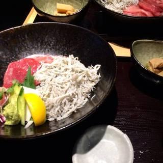 近大マグロと和歌山産しらすの紀州丼