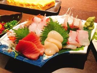 松山漁港直送鮮魚盛り合わせ