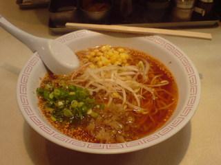 タンタン麺 味噌味