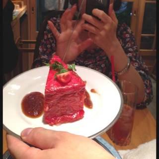 肉じゃがのケーキ仕立て