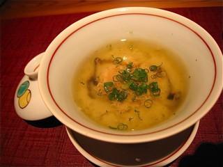 雲丹の茶碗蒸し