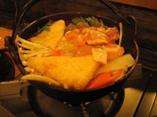 鶏肉ちゃんこ鍋