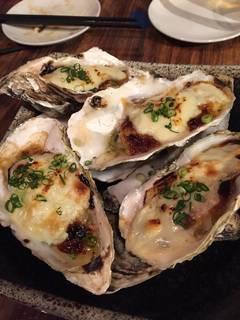 牡蠣の西京合わせ味噌焼き