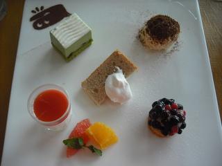 デザート5種もり