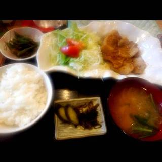 豚ロース生姜焼(定)