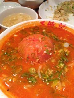 赤トマト坦々麺
