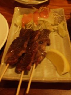 石垣牛カルビ串焼き