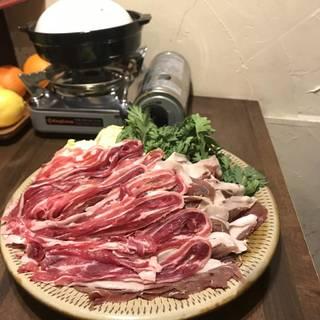 猪しゃぶしゃぶ鍋 薬膳風