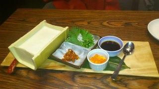 国産大豆の自家製豆腐