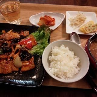 豚肉と野菜の辛みそ炒め