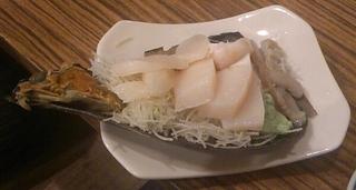 タイラ貝刺身