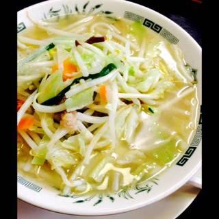 野菜たっぷりタンメン 餃子セット