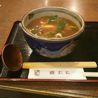 京風カレーうどん