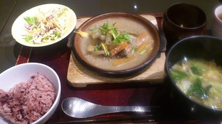 『豆腐つくねハンバーグ』定食