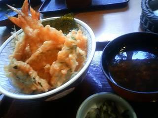 にぎわい海老天丼