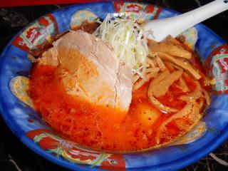 鉄火麺(辛口)