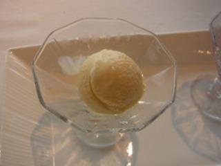 ラベンダーのアイスクリーム
