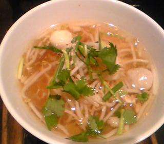 タイ風汁麺