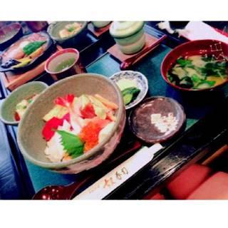 海鮮丼ランチセット