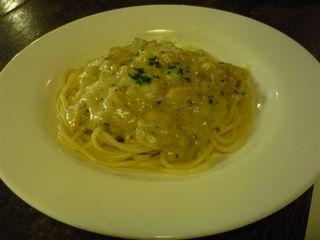 スパゲティ・クラムソース