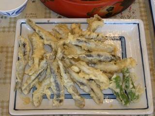 片口鰯天ぷら