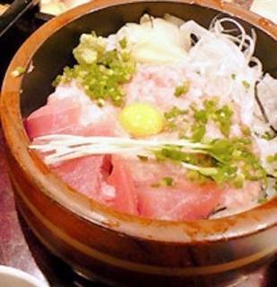 マグロネギトロ丼
