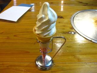 大山まきばソフトクリーム